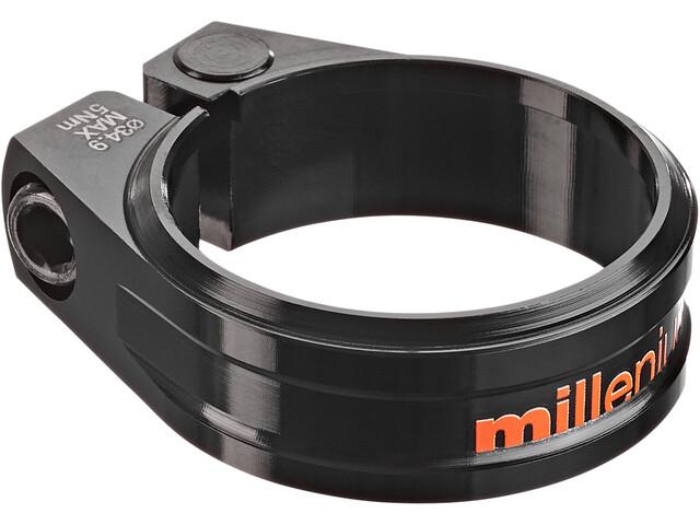 Sixpack Millenium Zadelklem Ø34,9mm, black/orange